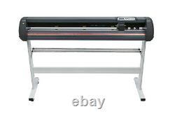 Plottre 1350mm Plottre De Coupe De Vinyle 53 Logiciel Sticker D'impression Numérique Usb