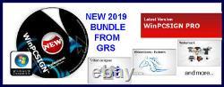 Pour Vinyle Express Vinyl Cutting Plotter, Winpcsign Pro Software + Rhinestone