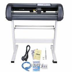 Pro 28 Vinyl Cutter Sign Plotter Sticker Cutting & Signmaster Software 3 Lames