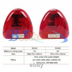 Pro Cutok A4 Size Mini Vinyl Cutter Plotter Machine Avec Fonction Contour Cut