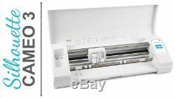 Silhouette Cameo 3 Edition Blanc Cutter Traceur Pour Transfert De Carte Vinyle Autocollants