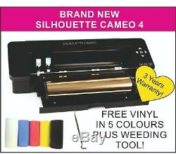 Silhouette Cameo 4 Traceur / Cutter. Appliquer En Vinyle Balloons, Signes, Windows Etc