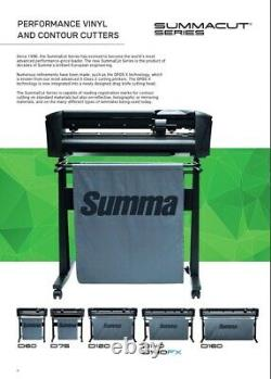 Summa 24 (61 Cms) Coupeur De Vinyle - / Plotter, Sign Cutting Machine Withsoftware