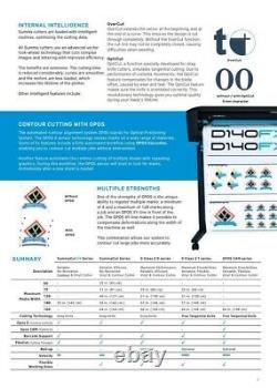 Summa 24 (61 Cms) Coupeur De Vinyle / Traceur, Sign Cutting Machine Withsoftware