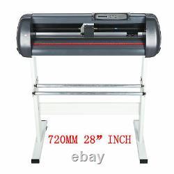 Un Logiciel Authentique 720mm Plotter De Découpe Vinyle Signe 28 Imprimante Autocollant