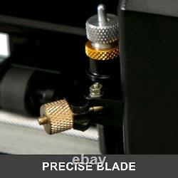 Vevor 28 Cutter Clotter Machine De Coupe 720mm Avec Stand Signmaster Coupe