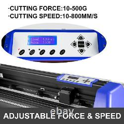 Vévor 34 Cutter De Vinyle Plotter 870mm Avec Stand Vinyl Signmaster Coupe 20 Lames