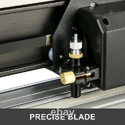 Vevor 34 Pinceau De Cutter En Vinyle 870mm Pinceau De Marqueur En Vinyle Avec Support 20 Lames