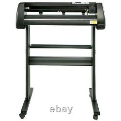 Vevor Cutter De Vinyle Coupe 34 Panneau De Fabrication 3 Lames Impression Avec La Table