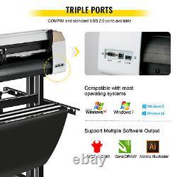 Vevor Vinyl Cutter Cutting Plotter 720mm Plotter Printer Vinyl Cutting For Signs
