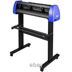 Vevor28 Vinyl Cutter/plotter Machine De Découpe Logiciel 20 Lames LCD Noir