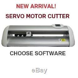 Vinyl Couteau Traceur Neuf Ukcutter 64mo Cache Ct1200s Avec Moteur Servo