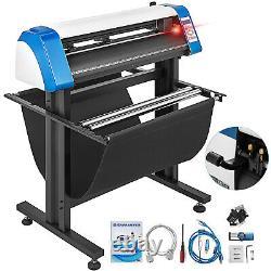 Vinyl Cutter Plotter Cutting 14/28/34/53 Inch Sticker Making Print 3 Blades Usb