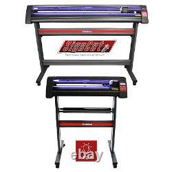 Vinyl Cutter Plotter Machine Led Guide Light Signcut Pro Software Label Making