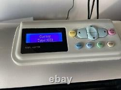 Vinyl Cutter Plotter Ukcutter Schtroumpf Hwf630 Contour Coupe Decal Chemise