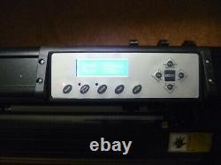 Vinyl Cutter Traceur Machine D'écriture Complet De Gagner ££ Est Prêt À Travailler