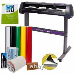 Vinyl Cutting Machine Bundle Sign Maker Kit Plotter Imprimante Large Avec Logiciel