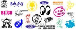 Vinyle Cutter & Ordinateur Portable Dans Une Boîte Traceur Signes Stickers Stickers Muraux Sm
