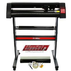 Vinyle Cutter Traceur De Pixmax 28 De Coupe Signcut Logiciel & Désherbage Kit