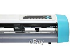 Vinyle Cutter Traceur Gcc Ar-24 Pour Sign & T-shirt + Transfert Greatcut Software