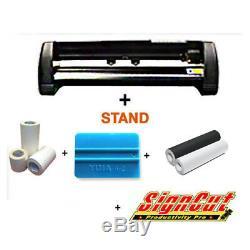 Vinyle Cutter Traceur Mh721 Signe + Vinyle + Logiciel + Outils De Démarrage Promo Package