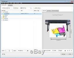 Vinyle Imprimable Cutter Traceur Vinylmaster Xpt Logiciel Rip Print & Cut + Impression
