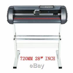 Vinyle Plotter De Découpe 720mm Sign Cutter 28maker Gratuit Genuin Logiciel Signmaster